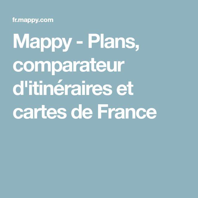 Mappy - Plans, comparateur d'itinéraires et cartes de France