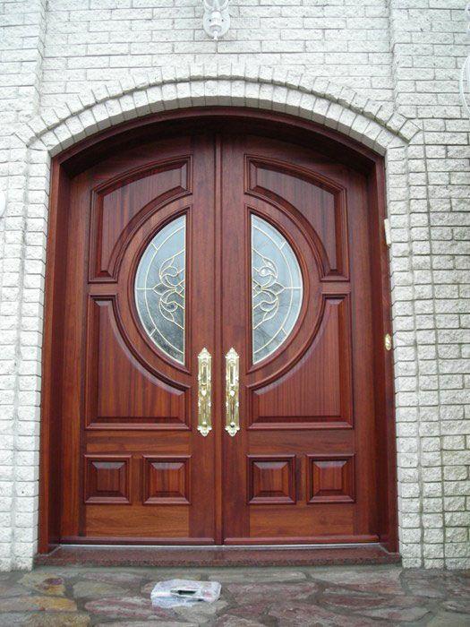 custom wood exterior door portes du0027entre en bois