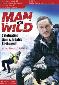 Man Vs. Wild Birthday Party