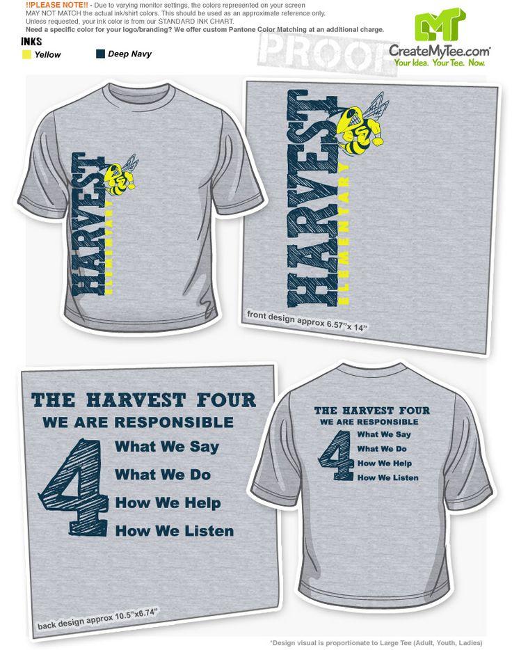 elementary school t shirt apparel designs createmytee