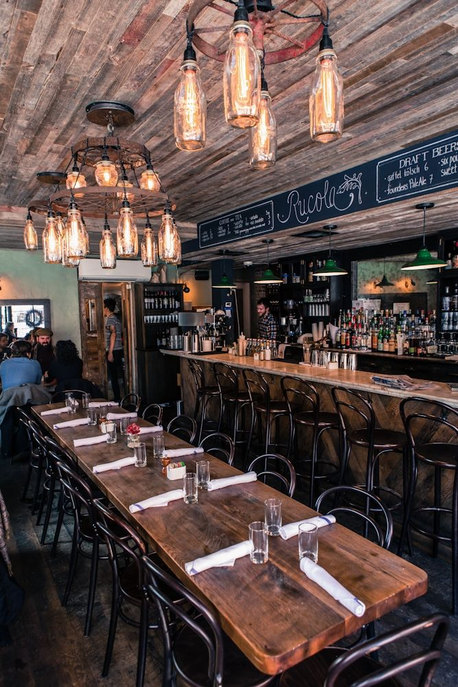 125 best modern rustic restaurant design images on pinterest for Athena mediterranean cuisine brooklyn ny