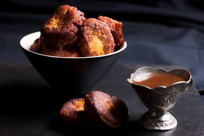 Pumpkin Fritters with Caramel Sauce | Huletts Sugar