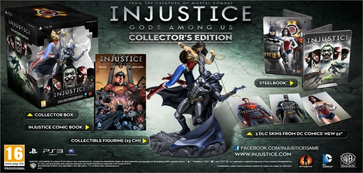 Make sure you're fighting fit for the release of the DC Universe's biggest fighting game to date, Injustice: Gods Among Us.  Pick your favorite DC character and duke it out till there's only one man (or woman) left standing.  Release date is Friday 19 April 2013.  We will also have the special Collector's Edition available for those true fans.  Ultimate Gamer - Live In Your World, Play In Ours! Tel (018) 468 8823 BBM Pin: 220835B1