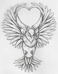 Image result for doves drawing