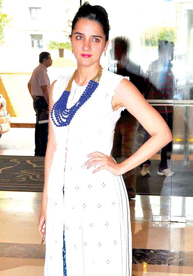 Shruti Seth at an event. #Bollywood #Fashion #Style #Beauty
