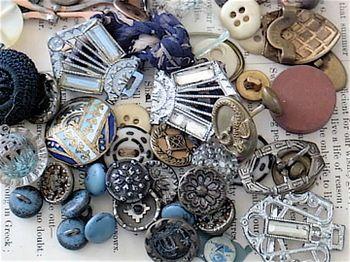 antique #buttons