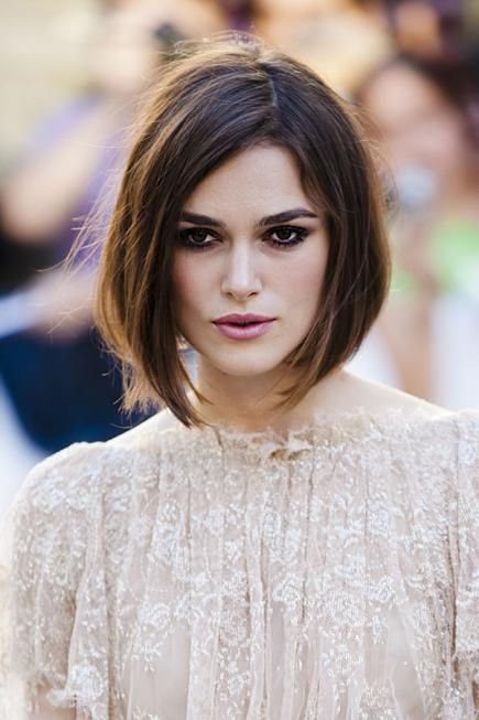 Keira Knightley has had long hair, short hair, and every style in between. Her hair evolution shows just how versatile fine hair can be. #finehair #hairtips