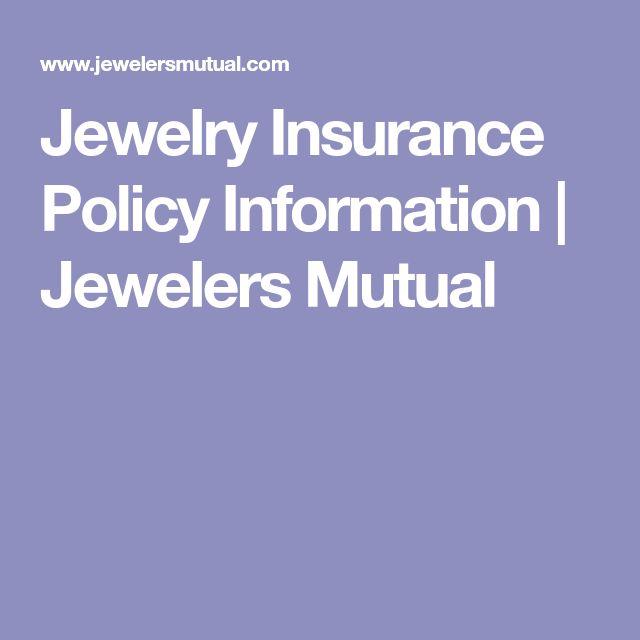 Jewelry Insurance Policy Information | Jewelers Mutual