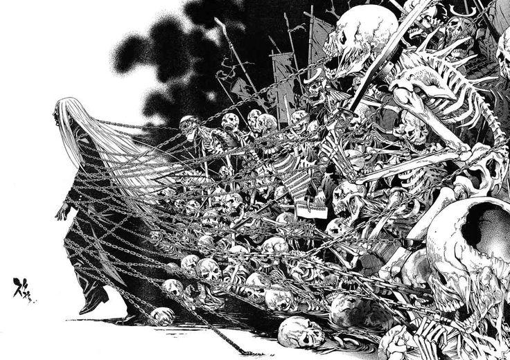 Tenjho Tenge 122 - Parte: 13 - Scanlations : CP9 No Fansub - Manga Online Gratis
