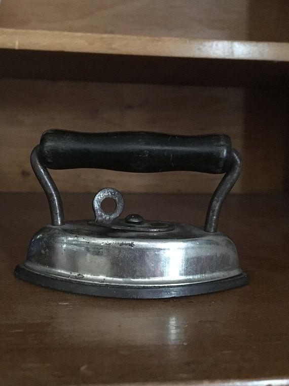 Antique Miniature Dover Dolly / Sad Iron