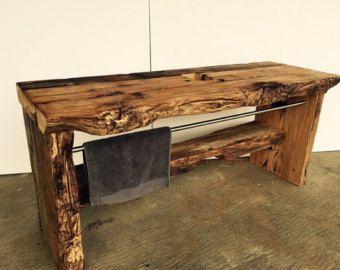 Old wood mirror by diewerkmeisterin on Etsy