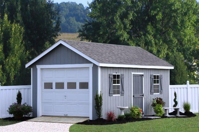 Home Depot Garage Kits 24 215 24 Single Shed In 2019 Prefab