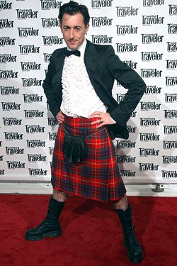One of my fav pics of Alan in a kilt