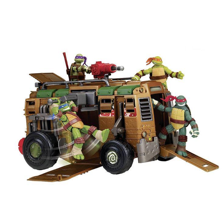 """Camion de combats Tortues Ninja, véhicule créé par Donatello qui est présent dans la série animée.<br><object width=""""640"""" height=""""480""""><param name=""""movie"""" value=""""//www.youtube.com/v/Q_kHxva_xg0?hl=en_US&version=3&rel=0""""></param><param name=""""allowFullScreen"""" value=""""true""""></param><param name=""""allowscriptac..."""