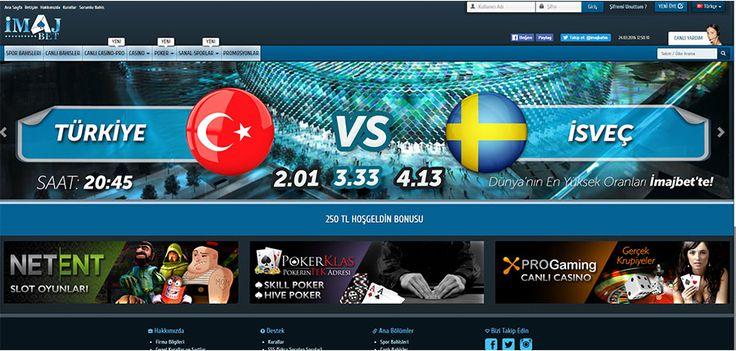 İmajbet Yeni Giriş Adresi İmajbet15 - Bir Pronetgaming sitesi olan İmajbet 2015 yılından beri Türkiye pazarında hizmet vermektedir. Montenegro hükümeti tarafından lisanslanan site, kullanıcılarına spor bahisleri başta olmak üzere, casino, canlı casino, poker, sanal sporlar gibi alanlarda hizmet vermektedir. İmajbet sitesi de son gele... - http://betmag.net/imajbet-yeni-giris-adresi-imajbet15/
