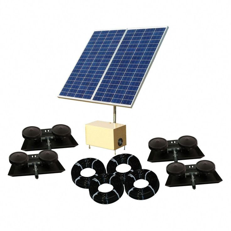 Outdoor water solutions solar aermaster 5 direct drive