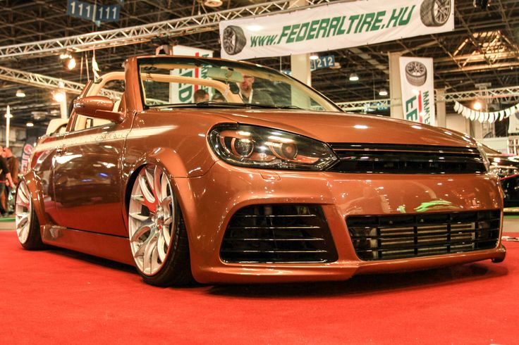 VW Golf Cabrio: Facelift-Diva  http://www.autotuning.de/vw-golf-cabrio-facelift-diva/ Diva, Golf Cabrio, VW