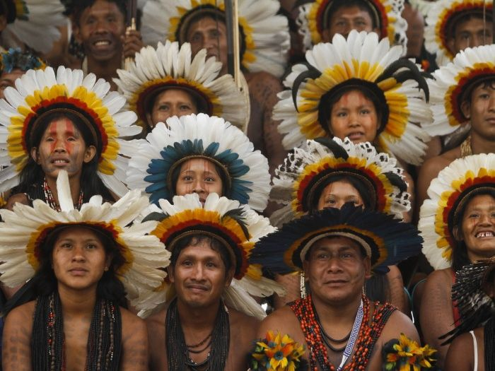 IV Jogos Olímpicos dos Povos Indígenas: Nesta quarta edição, a cidade de Mato Grosso do Sul foi a escolhida para sediar os jogos olímpicos indígenas.