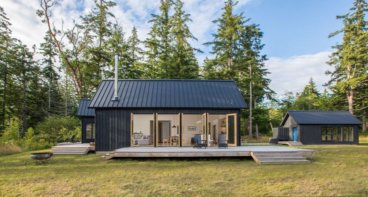 The Coyle Modern Home in Quilcene, Washington on Dwell