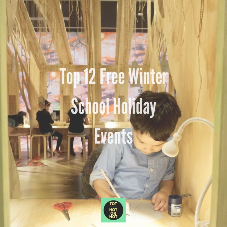 The HOT List: Top 12 Free Winter School Holiday Events in Melbourne http://tothotornot.com/2017/06/free-winter-school-holiday-events/