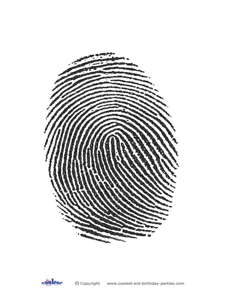 Printable Fingerprint - Coolest Free Printables