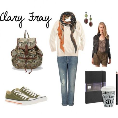 Mortal Instruments fashion - Clary Fray