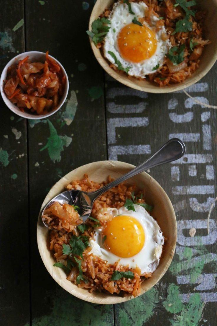 Supersnel klaar: kimchi fried rice