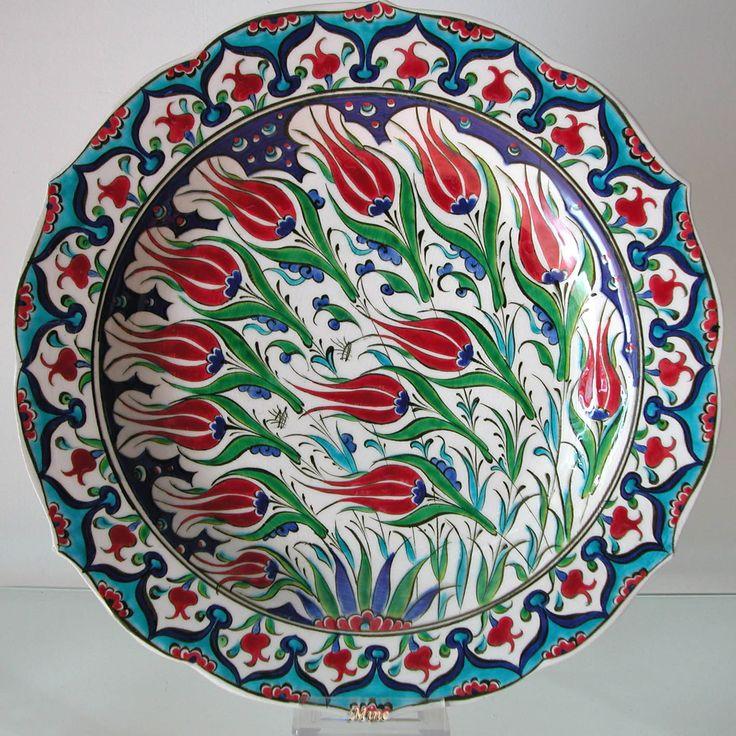 Ottoman Tulip as a form of art...