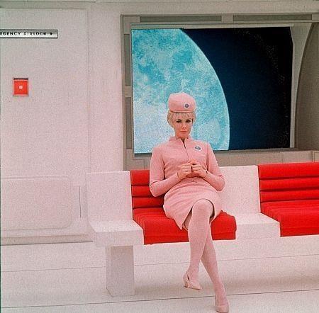 2001 : l'Odyssée de l'espace, de Stanley Kubrick, 1968.