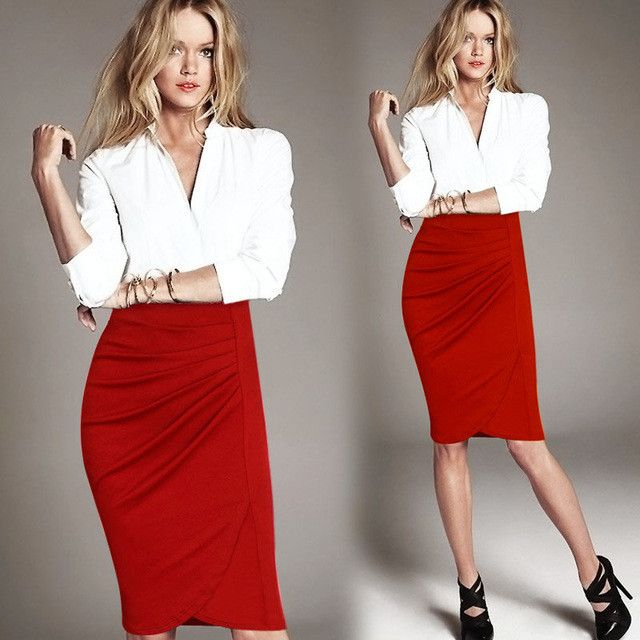 Top 25  best Office skirt ideas on Pinterest | Summer office looks ...