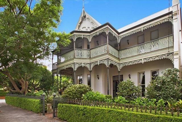 Historic c1886 Gothic Revival Victorian era mansion. Glebe, Sydney