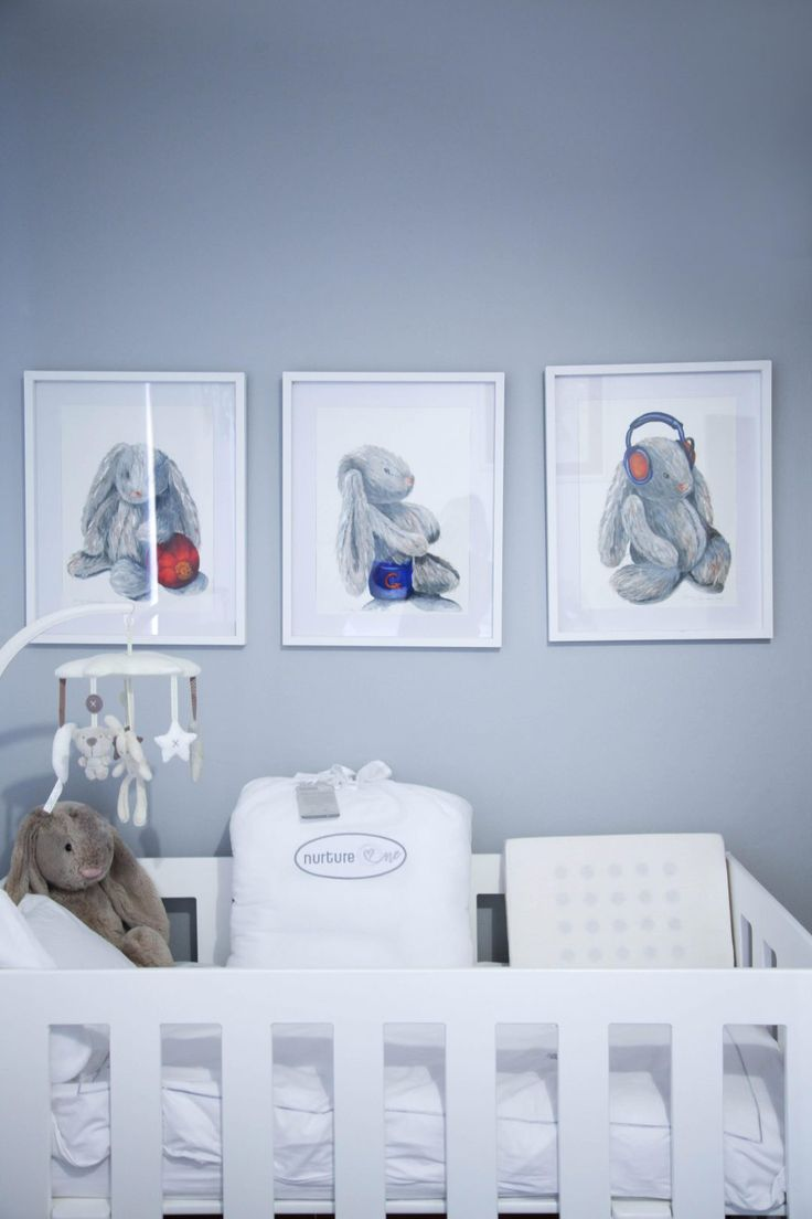 Bunny Nursery and Granny Goose linen
