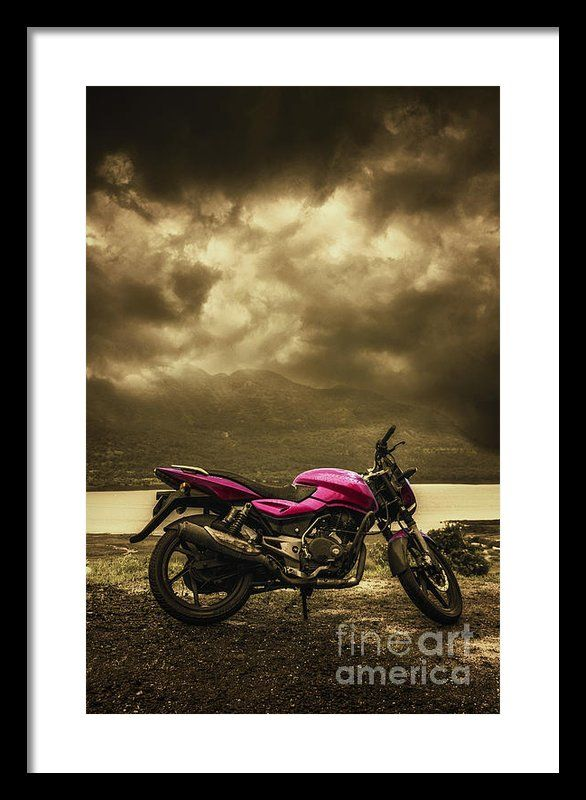 Bike Framed Print By Charuhas Images