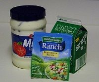 How to Make Restaurant Style Ranch Dressing because the bottled stuff just isn't as good!