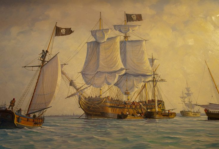 The North Carolina coast is steeped in pirate history from the Outer Banks to the Brunswick Islands.