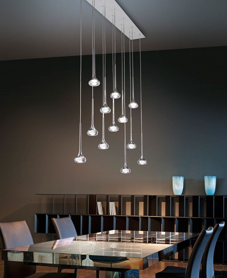 Contemporary Chandeliers For Dining Room Alluring 124 Best Lighting Contemporary Dining Room At Cassoni Images Design Ideas