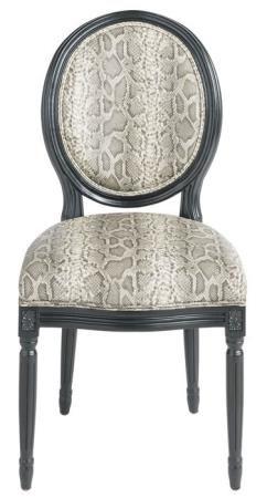 Meuble Chaise médaillon PYTHON - Mobilier Chaises Signature