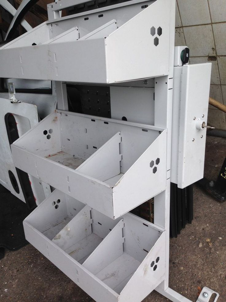 Van racking system with SAFE