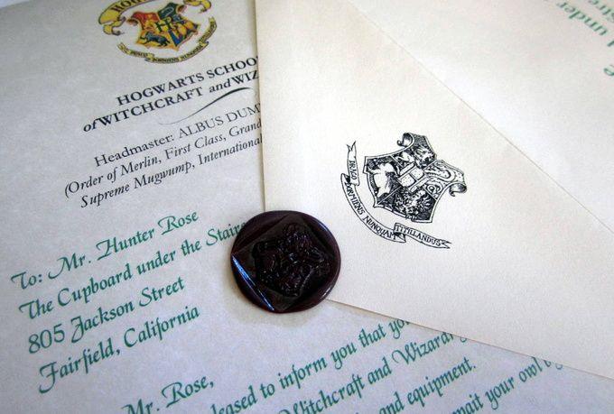 Send a Harry Potter fan a Hogwarts acceptance letter for only $5!