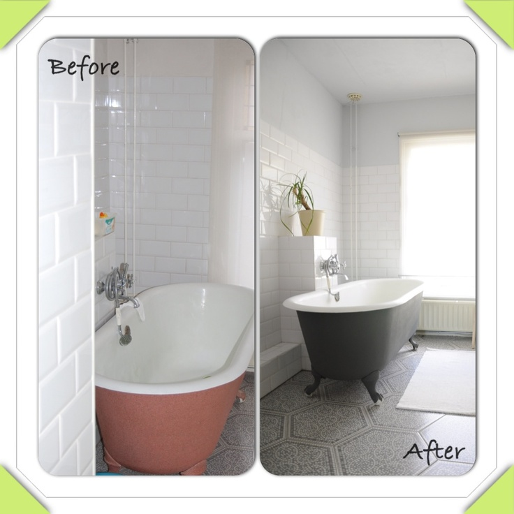Before And After Bathroom Makeovers On A Budget: 74 Best Images About BEFORE AND AFTER. On Pinterest