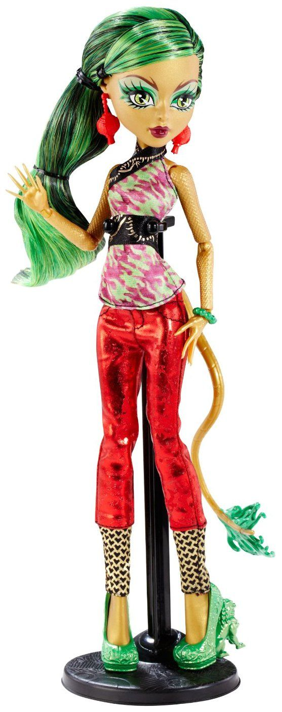 Monster High New Scaremester Jinafire Long this is the same exact one i got for my birthday this year!!!!!!!!!!!