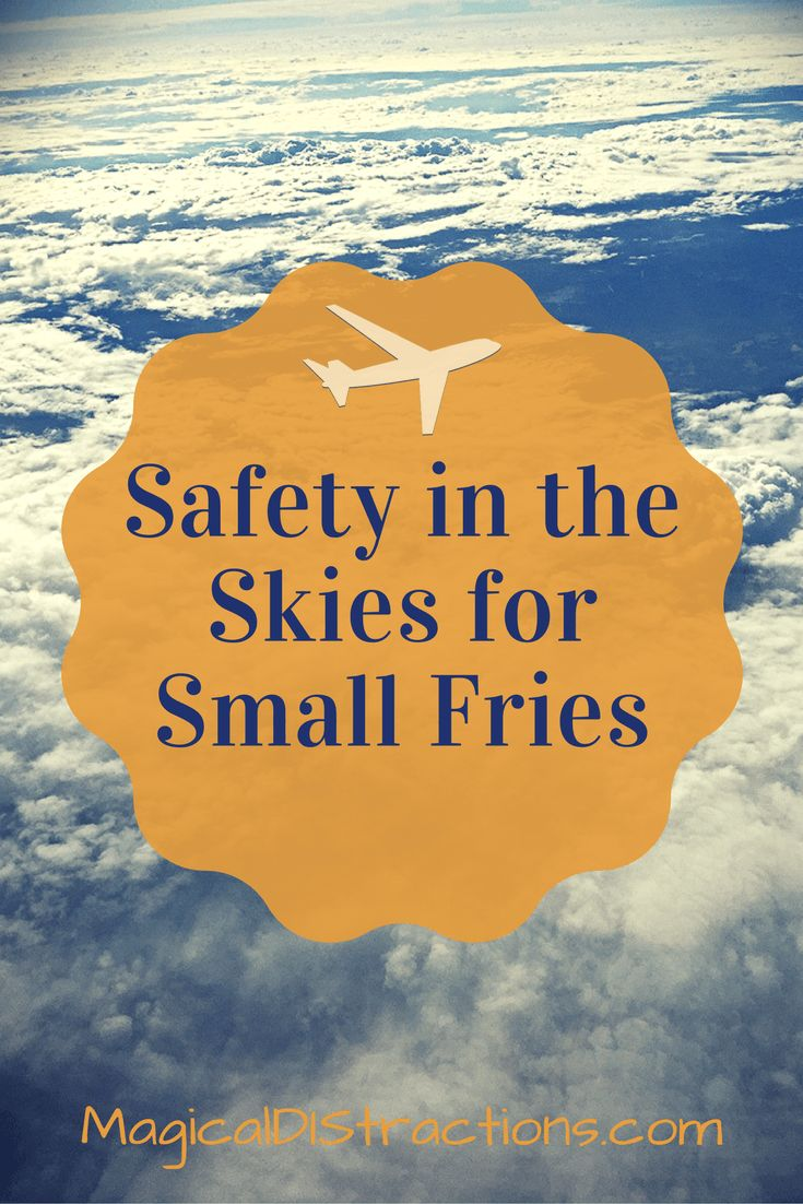 Safety tips for flying with little ones