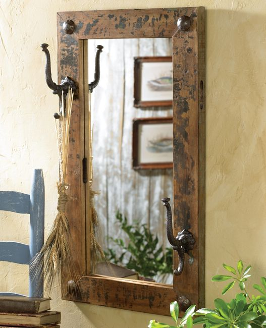 Barnwood Framed Bathroom Mirrors 55 best rustic bathroom mirrors images on pinterest | rustic