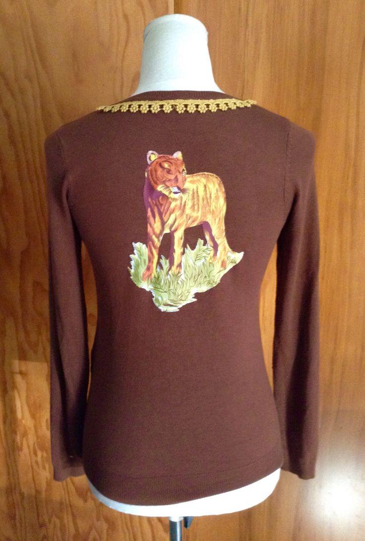 Penelope Tree Vintage & Craft embellished cardigan
