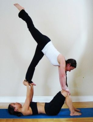 58 best images about partner yoga on pinterest  yoga