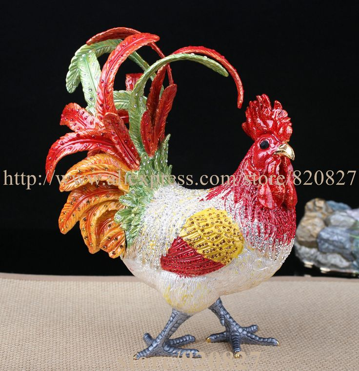 Find More Jewelry Packaging & Display Information about Big Rhinestone Chicken Metal Jewelry Box Home Huge Rooster Chicken Figurine Trinket Hinge Pill Box Decorative Ornament Gift ,High Quality jewelry box,China metal jewelry box Suppliers, Cheap jewelry box gift from trinket jewelry box on Aliexpress.com