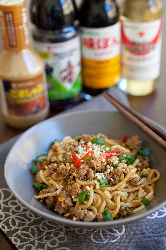 Dan Dan Mian | Community Post: 31 Asian Noodle Dishes That'll Make You Quit Takeout Forever