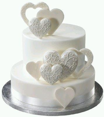 2 Tier Pastel Color Cakes | Si necesitas un pastel de bodas más grande, este de cuatro pisos ...