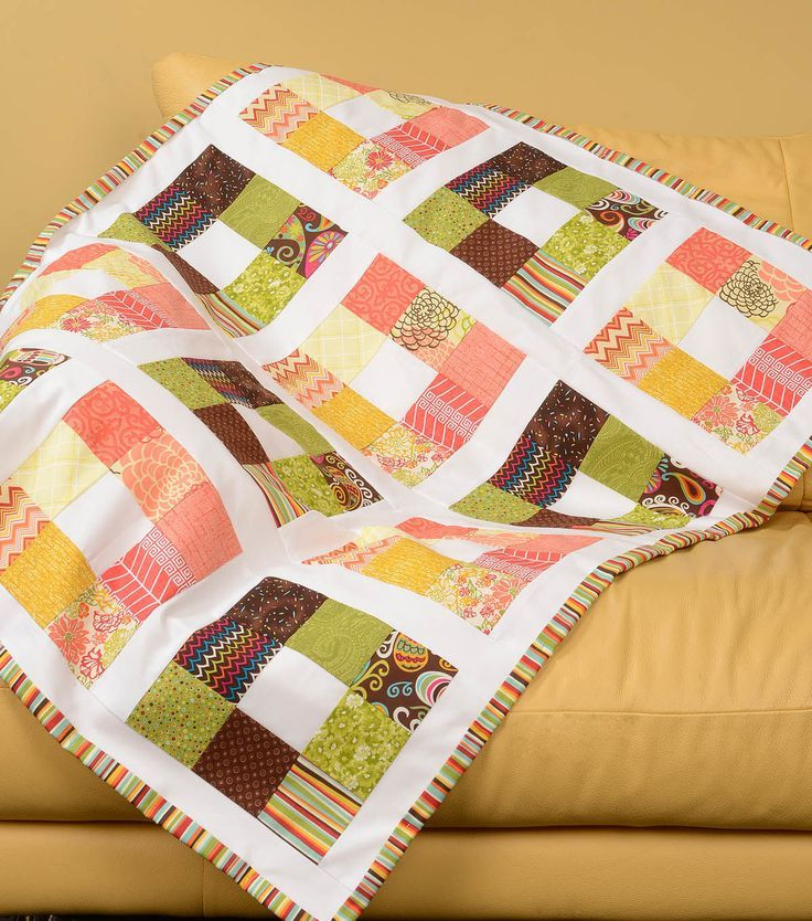 237 best Quilt with JOANN images on Pinterest | Lambs, Appliques ... : joann fabrics quilt kits - Adamdwight.com