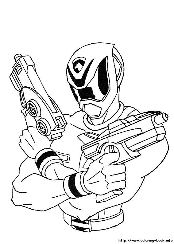 Power Rangers Samurai Coloring Pages Online